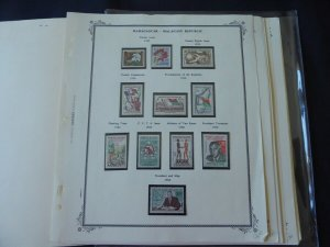 Madagascar 1959-1975 Mainly MNH Stamp Collection on Scott Spec Album Pages