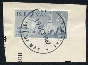 Isle of Man 2/6 Slate QEII Pictorial Revenues CDS On Piece