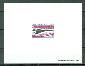 WALLIS & FUTUNA CONCORDE  PROOF #C30...MNH