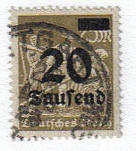 Germany Inflation stamps VF