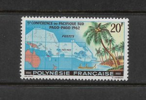 FRENCH POLYNESIA #198 SOUTH PACIFIC CONFERENCE  MNH
