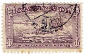 (I.B) Netherlands Cinderella : Merchant Navy Stamp (Our Fleet)