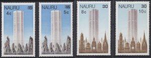 Nauru 161-164 MNH (1978)