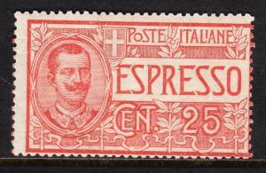 ITALY — SCOTT E1 —  1903 SPECIAL DELIVERY — MH — SCV $50.00