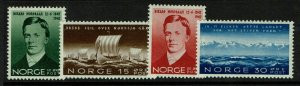 Norway SC# 247-250, Mint Never Hinged - S9362