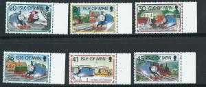 Isle of Man MUH SG 656-661 Margin Copy