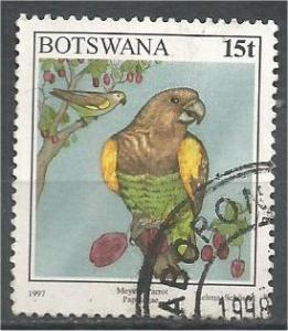 BOTSWANA, 1997, used 15t, Meyers parrot Scott 622