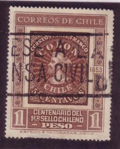 Chile Sc. # 276 Used