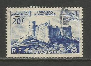 Tunisia  #246  Used  (1954)  c.v. $0.30
