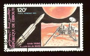 Djibouti C145 Viking 1 to Mars, space cto hinged