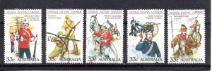 Australia 945a-945e used (A)