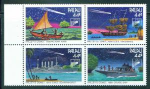 Palau US Trust Territory Scott 95-98 MNH** Block of 4 Hall...