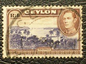 Ceylon Scott #287 used