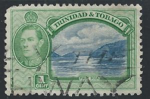 Trinidad & Tobago #50 1c First Boca