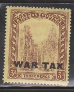 BAHAMAS Scott # MR9 MH - War Tax Overprint
