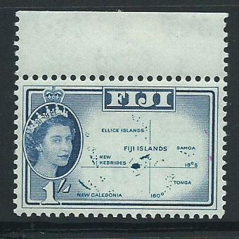 Fiji  QE II SG 306  MUH margin hinged