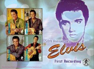 Sierra Leone MNH S/S Elvis Presley's 1st Recording