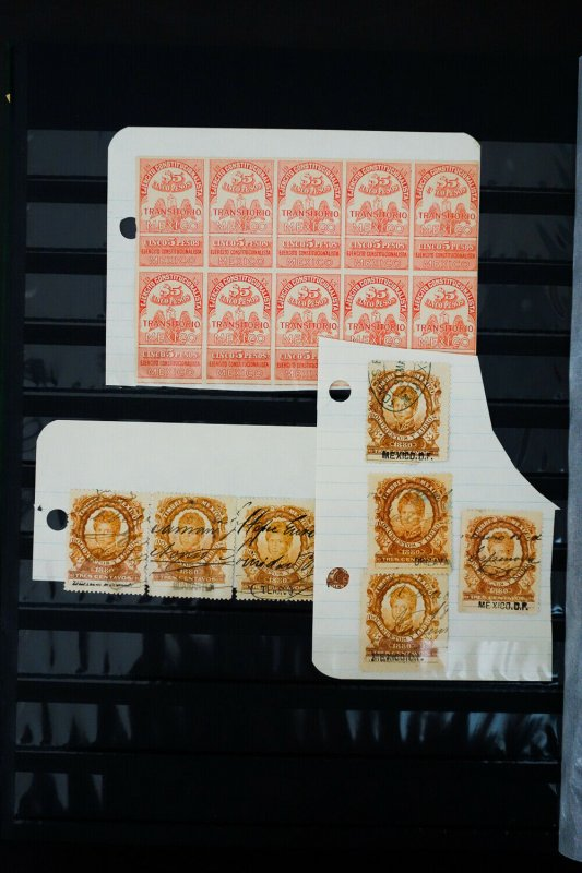 World Revenue Stamp Collection Lot of 1,000