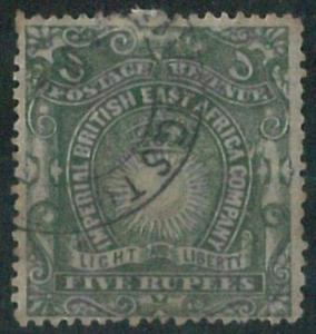 70647 -  BRITISH EAST AFRICA - STAMP : Stanley Gibbons # 19 -  Very finely USED