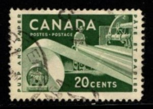Canada - #362 Paper Industry  Used