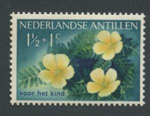 Netherlands Antilles Scott's #B21 - Tribulus Cistoides -Unused-LH