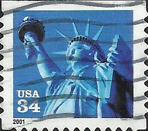 # 3485 USED STATUE OF LIBERTY