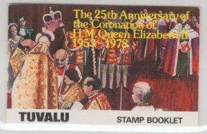Tuvalu Scott #81-84 Stamps - Mint NH Booklet