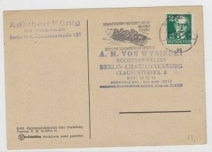 German Postal History Stamps Postcard Ref: R5219