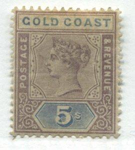 Gold Coast QV 1889 5/ used
