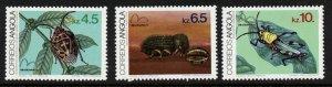 Angola 666-8 MNH Insects