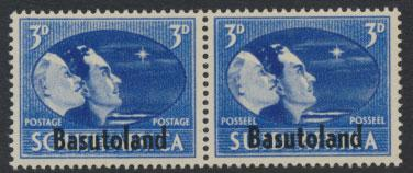 Basutoland SG 31 Mint never Hinged  Pair OPT - Victory