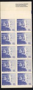 Sweden Sc 888a 1971 Terns stamp bklt of 10 mint NH