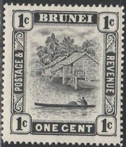 Brunei, #43 Unused From 1924-27