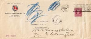 Cuba 3c Jose de la Luz 1932 Habana, Cuba Our Largest Buyer Will Be Our Larges...