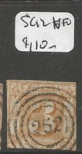 Germany Thurm And Taxis SC 12 VFU (4cpn)