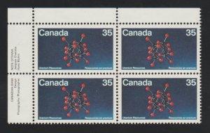Canada 865 Uranium - MNH - block