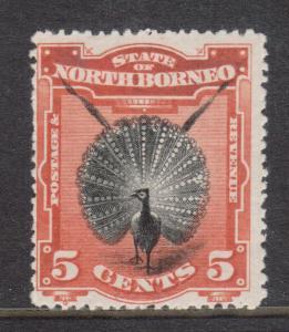 North Borneo #83 Mint
