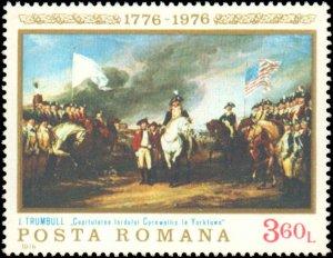 Romania #2603-2608, Complete Set(6), 1976, Americana, Never Hinged