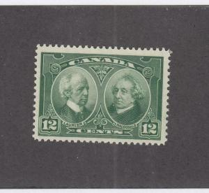 CANADA (MK3333) # 147  VF-MNH 12cts JUN 1927 / LAURIER & MACDONALD CAT VALUE $30