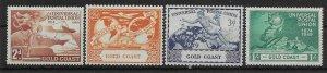 GOLD COAST SG149/52 1949 U.P.U. SET MTD MINT