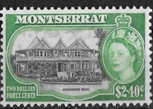 Montserrat # 141 QE II Definitive   $2.40  (1)  Mint NH