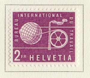 Switzerland Helvetia 1956 Early Issue Fine Mint Hinged 2F. NW-170846