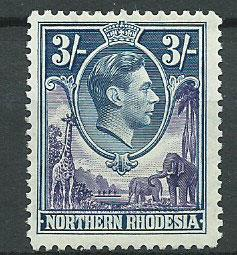 Northern Rhodesia  SG 42  No gum no cancel