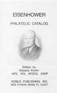 Dwight Eisenhower Philatelic Catalog
