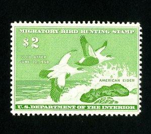 US Stamps # RW24 VF OG NH
