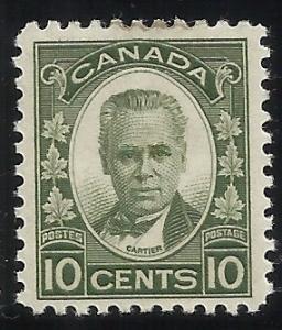 Canada 190 10c  MH F/VF Centering