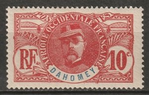 Dahomey 1906 Sc 21 MLH*
