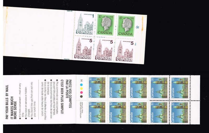 CANADA MNH BOOKLET STAMPS LOT