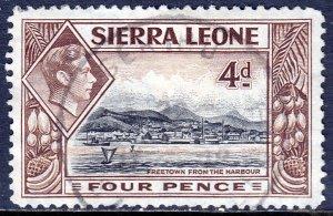 Sierra Leone - Scott #178 - Used - Rounded corner UR - SCV $4.50