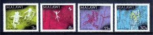 Malawi - Scott #186-189 - MNH - SCV $2.20